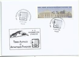 Vignette De Distributeur LISA - ATM - Opéras De Vienne Et Paris - Salon D'automne 2006 - 1999-2009 Viñetas De Franqueo Illustradas