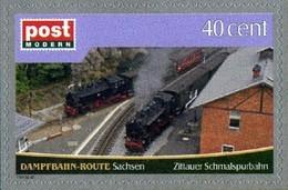 Privatpost Sachsen Zittauer Schmalspurbahn  **/MNH - Trains
