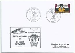 Cachet Illustré Salon D'automne 2006 - Sur YT A63 Personnage De Bandes Dessinnées - Le Chat - Postmark Collection (Covers)
