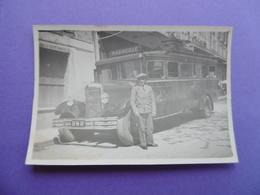RIEZ  ( 04 )  PHOTO Du CAR De La Cie POGOLOTTI  Pour MARSEILLE - Places