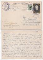 Polen 1969  Ganzsache Cp 423 Teatru Fredreum Poland Postal Stationary Used Kartka Pocztowa - Stamped Stationery