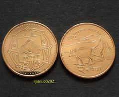 Nepal Münzen 2 Rupees Km1188 UNC COIN CURRENCY ASIEN - Népal