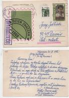 Polen 1969 Ganzsache Cp 420 Weltposttag Poland Postal Stationary Used Kartka Pocztowa - Stamped Stationery