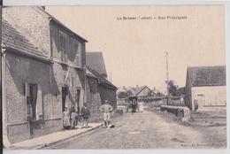 LA BROSSE (45 Loiret) - Rue Principale - Frankreich