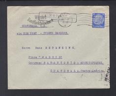 Dt. Reich Brief 1934 Rumohr Nach Guatemala - Briefe U. Dokumente
