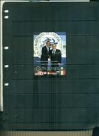 SIERRA LEONE 35 G8 OBAMA - BERLUSCONI 1 BF NEUF A PARTIR DE 0.75 EUROS - Sierra Leone (1961-...)