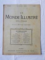 LE MONDE ILLUSTRE - ANNEE 1898 / Mission Gentil Lac Tchad / La Sorbonne / Mlle Basoche / Tombeau Richelieu - Boeken, Tijdschriften, Stripverhalen