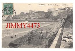 CPA - BIARRITZ - La Côte Des Basques En 1912 - 64 Pyrénées Atlantiques - N° 229 - ND Phot. - Biarritz