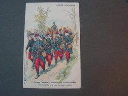 Armee Francaise , Aus Raon Plaine Vosges Nach Zürich 1909 - Uniformes
