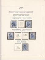 PERFINS, KING CAROL II STAMPS, 1935, ROMANIA - Perforiert/Gezähnt
