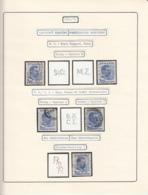 PERFINS, KING CAROL II STAMPS, 1934-1935, ROMANIA - Perforiert/Gezähnt