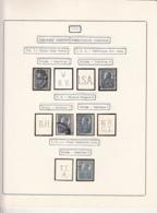 PERFINS, KING FERDINAND STAMPS, 1921, ROMANIA - Perforiert/Gezähnt