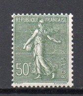 - FRANCE N° 198 Neuf ** MNH - 50 C. Olive Semeuse Lignée 1924-32 - Cote 13 EUR - - 1903-60 Sower - Ligned