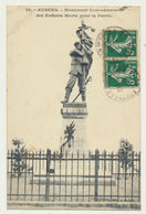AUBERS - Monument Commémoratif Des Enfants Morts Pour La Patrie - Francia
