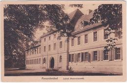 ALEXANDERBAD - SCHLOSS - GERMANIA - GERMANY - DEUTSCHLAND -518- - Welt