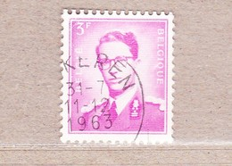 1959 R4 Gestempeld.Koning Boudewijn.Wit Papier. - Rouleaux