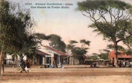 Colonies Françaises - Sénégal-Couleurs - Une Escale De Traite ( Kelle ) - Edit. Fostier N° 3143 - Senegal