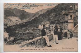 LUCERAM (06) - ROUTE DE PEIRA CAVA - CHASSEURS ALPINS - Lucéram