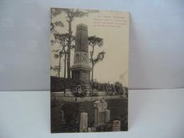 871  TONKIN  PHUC-YEN MONUMENT ÉLEVÉ A LA MÉMOIRE DES SOLDATS TUES PENDANT LES COLONNES DU YEN THÉ CPA - Vietnam