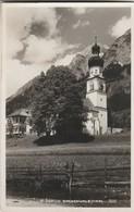 CPA     ALLEMAGNE  PHOTO CARTE ST MARTIN GNADENWALD TIROL  E121 - Autriche