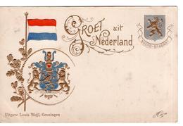 Noord-Brabant - Wapen - 1901 - Pays-Bas