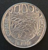 VATICAN - VATICANO - 100 LIRE 1975 - Paul VI - KM 130 - Vatican