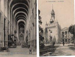 31  TOULOUSE   Eglise Saint Sernin  La Nef + Le Donjon - Toulouse