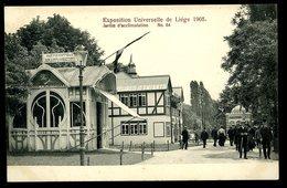 Liège Exposition  Universelle De 1905 Jardin D'Acclimatation Animée  Pionnière Couveuses D'Enfants - Liege