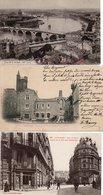 31  TOULOUSE   Rue De Metz +Tour Du Lycée Et Eglise Des Jacobins + Vue Générale Prise De La Dalbade - Toulouse