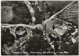 MONTALTO DI CASTRO - VITERBO - PONTE ETRUSCO DELL'ABBADIA - VIAGG. 1959 -43294- - Viterbo
