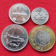 Comoros Set  25 50 100 250 Francs  2013  Comores UNC - Comoren