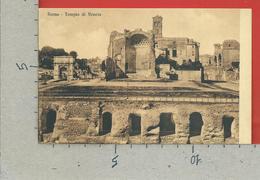 CARTOLINA NV ITALIA - ROMA - Tempio Di Venere - 9 X 14 - Roma