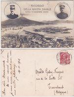 NAPOLI - RICORDO DELLA RIVISTA NAVALE - VIAGG. 1912 -23996- - Napoli