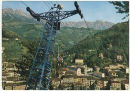 RECOARO TERME - VICENZA - PANORAMA CON SEGGIOVIA - VIAGG. 1969 -37355- - Vicenza