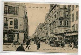 75 TOUT  PARIS 302  Carte RARE  Rue Vieille Du Temple Et Rue De Bretagne Autobus Banque Credit Lyonnais   D03 2020 - Distretto: 03