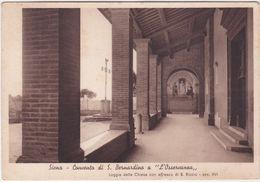 """SIENA - CONVENTO DI S. BERNARDINO A """"L'OSSERVANZA"""" - LOGGIA DELLA CHIESA -33324- - Siena"""