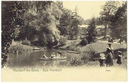 MONDORF-LES-BAINS  -  BAD MONDORF - Parc - Mondorf-les-Bains