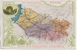 80 SOMME Les Départements Edition Chocolaterie D'Aiguebelle - Ohne Zuordnung