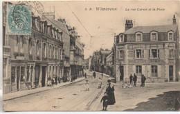 62 WIMEREUX  La Rue Carnot Et La Place - Autres Communes