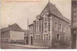 50 CARENTAN  L'Hôtel Des Posres Et L'Entrée Des Squares - Carentan