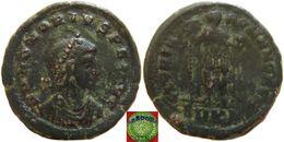 LaZooRo: Roman Empire - AE2 Of Honorius (393 – 423 AD), GLORIA ROMANORVM - 8. La Fin De L'Empire (363-476)