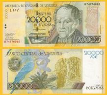 Venezuela 20000 (20,000) Bolivares P-86d 2002 UNC Banknote - Venezuela