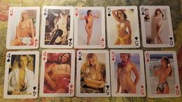 RUSSIA - Playing Card (Jeu De Carte - Speelkaarten) - 54 CARDS  (full!!!) Erotic Sexy Nude - Kartenspiele (traditionell)