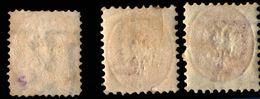 Lombardo-Venetia 1864 2&5 Soldi Stamps Unused No Gum With Watermark-letters - Austrian Period - 2003.1223 - Lombardy-Venetia