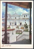 °°° 19376 - NICARAGUA - LEON - PLAZA CENTRAL - 1999 With Stamps °°° - Nicaragua