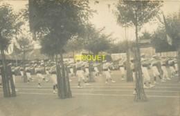 44 Le Clion, Ecole St Joseph, Carte Photo Des Fêtes, Gymnastique Et Exercices 1910, N°20, Beau Document - France