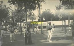 44 Le Clion, Ecole St Joseph, Carte Photo Des Fêtes, Gymnastique Et Exercices 1910, N°10, Beau Document - France