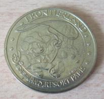 France - Médaille De La Monnaie De Paris - Frontierland, Disneyland Paris 2004 - Diam. 34 Mm, Poids 15,7 Gr - Monnaie De Paris
