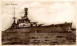 "H.M.S. ""Repulse""  Barco. Ship. Naviere - Guerra"