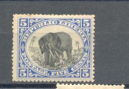 Liberia 1905 MLH - Liberia